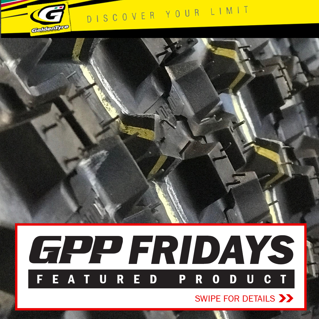 GPP FRIDAYS FEATURED PRODUCT - Goldentyre