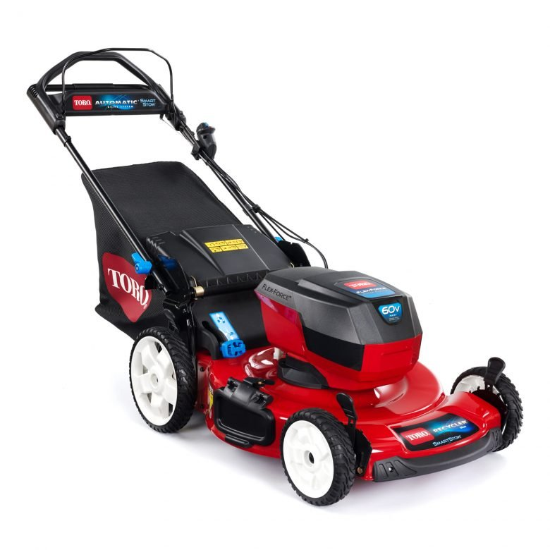 "Introducing the 56 cm (22"") Recycler® Personal Pace® 60 Volt Battery Mower"
